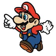 Mario 1990s (artwork Oficial creador por ©Nintendo)