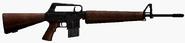 Wood Rifle america