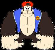 The gorilla 087