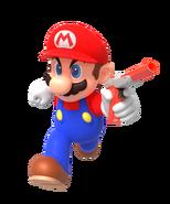 Mario with NES Zapper By Nintega-Dario