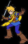 Isaac by p fritz y Nintendo render