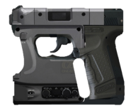 Pistola 2 de Ficciónes render