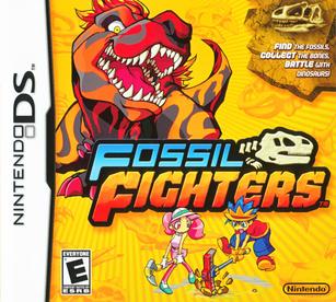 Fossil Fighters DS America Caja de Arte.png