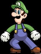 Luigi (©Nintendo) de remake SSBR by blistinaorgin