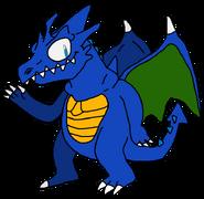 Pablo the Blue Dwarf Dargon
