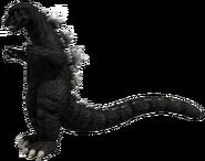 Godzilla 1975 3D render Toho 01