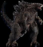 Godzilla 2019 transparent by Camo-Flauge