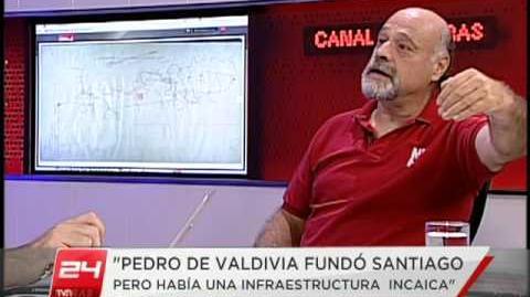 ¿Cambia la historia? ¿Pedro de Valdivia no fundó Santiago? Entrevista de @christianpino