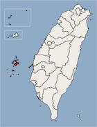 Penghu County Location Map