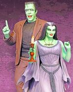 Lily-munster-herman-munster-paint-by-numbers