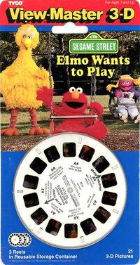 View-master elmo play 1993