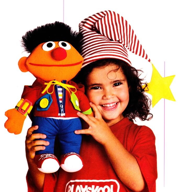 Dress-Me-Up Ernie