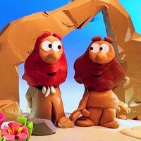 Red&BrownCavemen