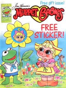 Muppet babies uk weekly 24 april 1987