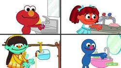 Sesame Street Caring For Myself Caring For Others Different Ways to Wash Your Hands