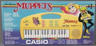 Casio muppets keyboard dance 1