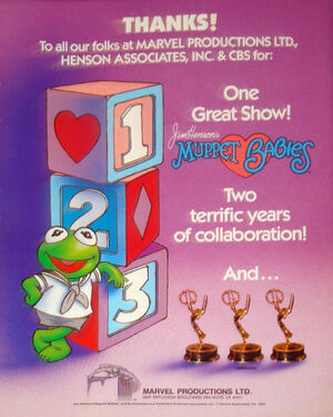 Muppet Babies Emmy Award ad two terrific years.jpg