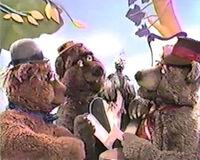 Muppet time three bears beauty salon