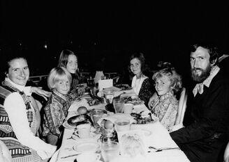 Henson family dinner