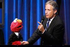 2012 Sesame Gala Jon Stewart Elmo