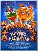 German-Die-Muppets-Erobern-Manhattan-Poster-NEW