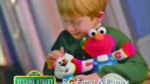 RC Elmo and Puppy