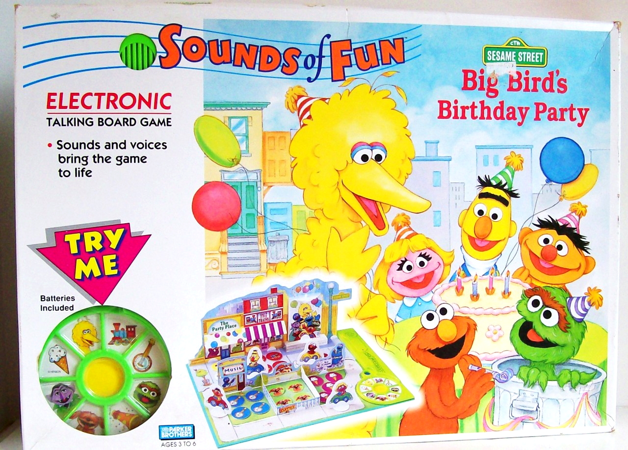 Big Bird's Birthday Party (game)