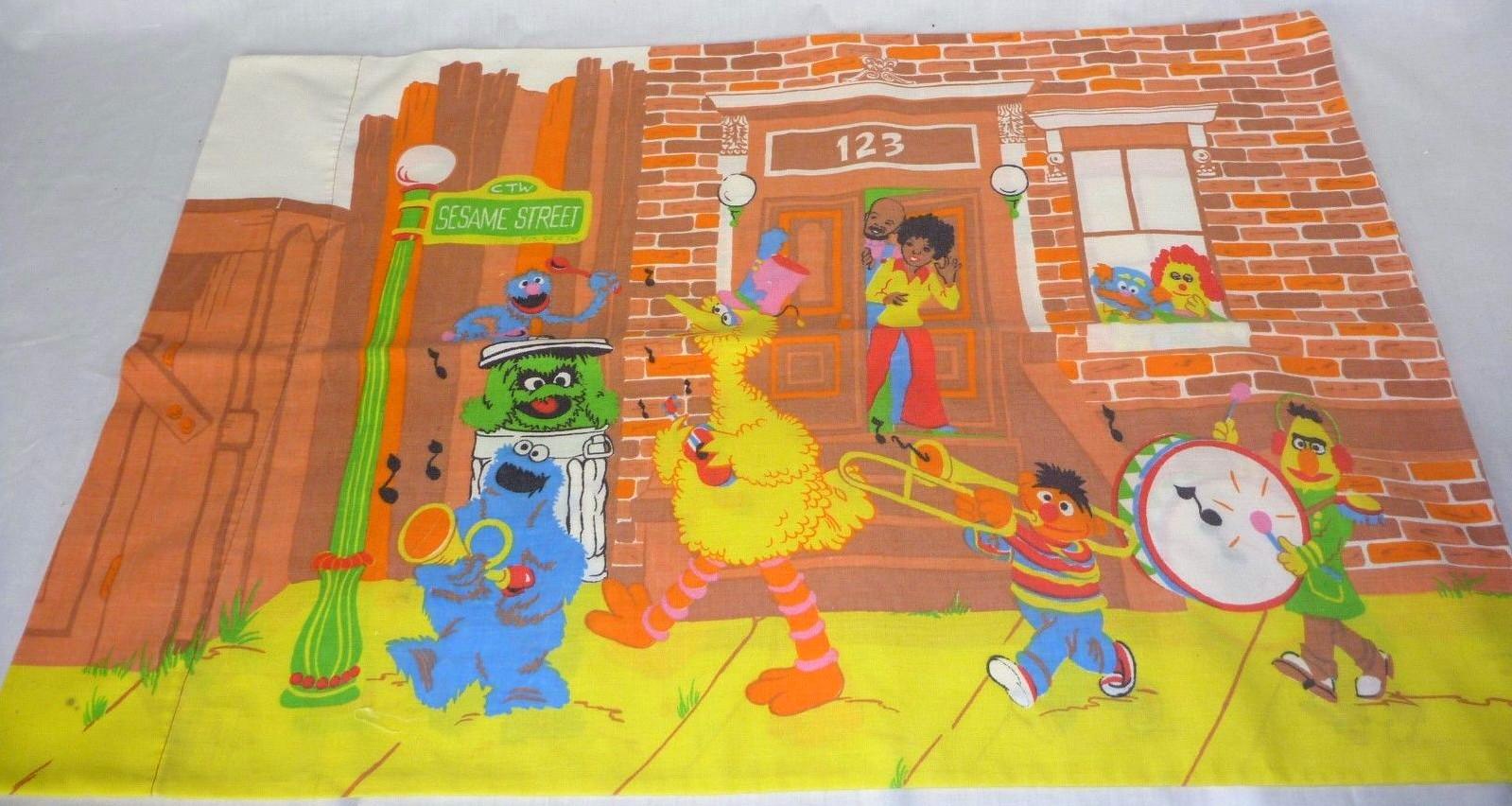 Sesame Street bedding (Burlington)