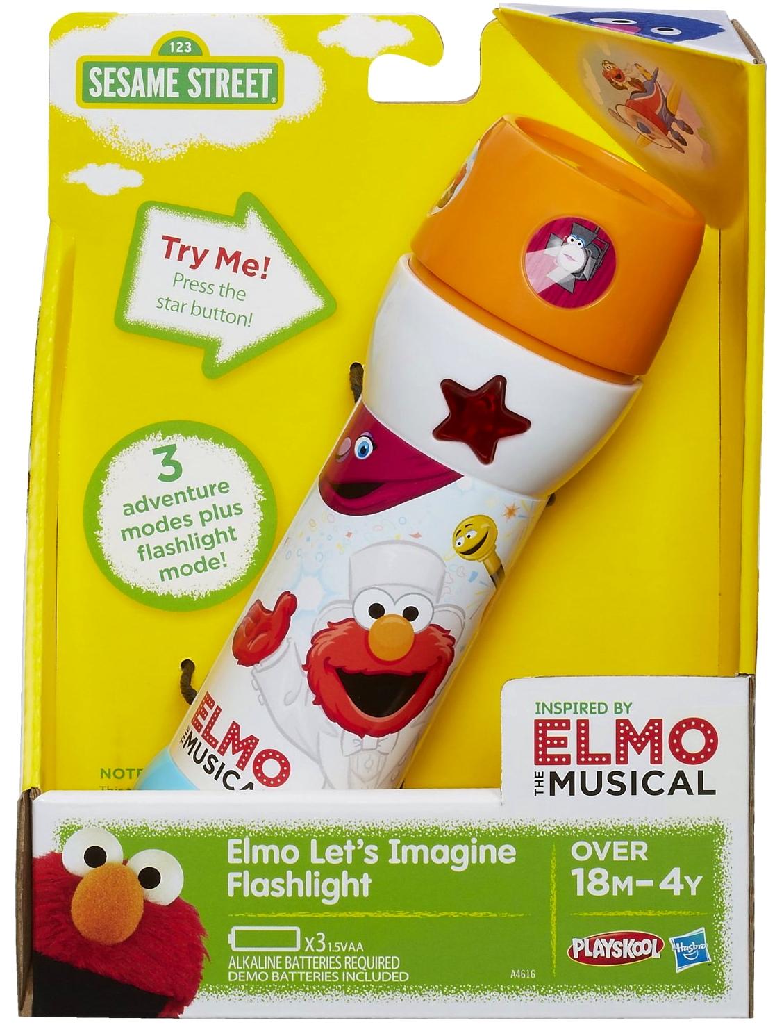 Elmo Let's Imagine Flashlight