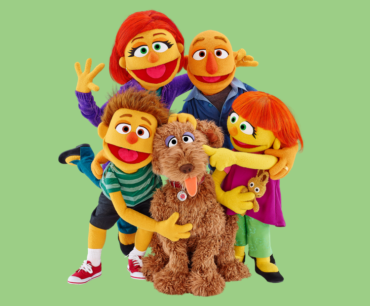 Julia's family