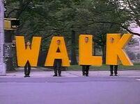 Letters.WALK