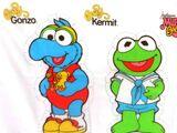 Muppet Babies fabric panel dolls