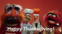 Happy Thanksgiving from The Muppets
