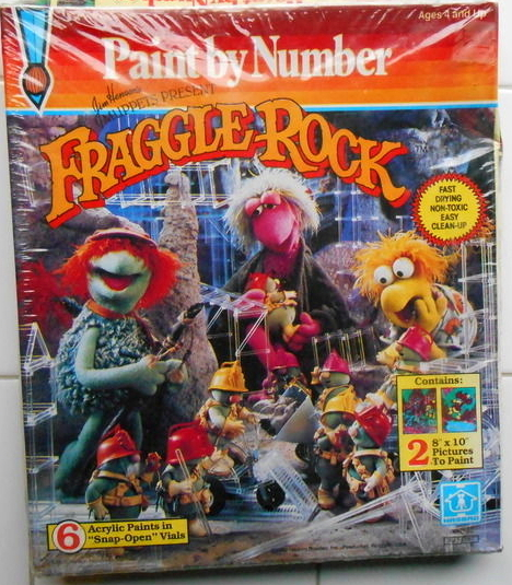 Fraggle Rock Paint by Number kits