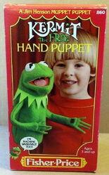 Fisher-price kermit hand puppet 2