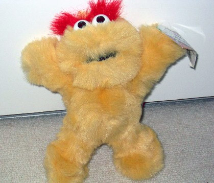 Scary Scary Monsters plush