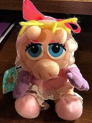 Toy biz 1997 baby kermit and piggy