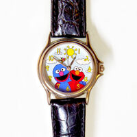 Fossil sesame street general store grover elmo watch