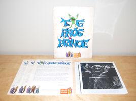 Frog Prince press