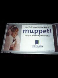 Hibernian Aviva muppet ad