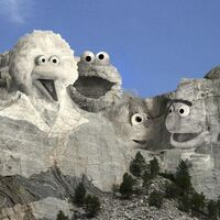 Sesame Rushmore Presidents Day 2017