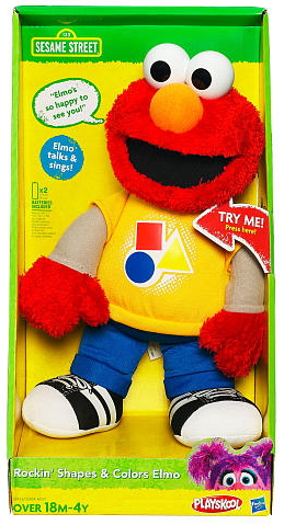 Rockin' Shapes & Colors Elmo