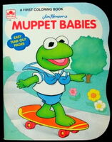 1993 mbabies coloring book nate butler