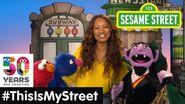 Sesame Street Memory Garcelle Beauvais ThisIsMyStreet