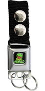 Buckle-down keychain kermit