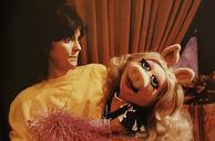 Karen Carpenter and Miss Piggy