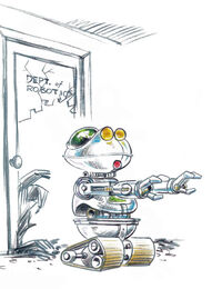 Muppet Institute of Technology robot
