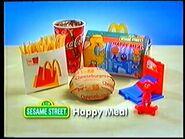 Australian Sesame Street at McDonald's, 1999