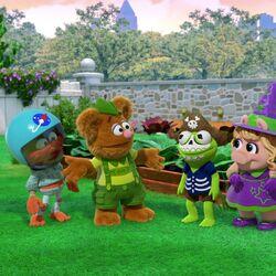 Happy Hallowocka backyard costumes.jpg