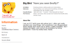 Muppetbook Big Bird
